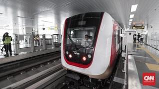 LRT Jakarta Cuma Angkut 102 Penumpang Sehari pada Awal Juni