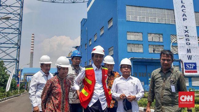 Presiden Joko Widodo mengklaim tingkat keterjangkauan listrik di Indonesia mencapai 98,3 persen. Meski begitu, Ia ingin ada sumber listrik selain energi fosil.