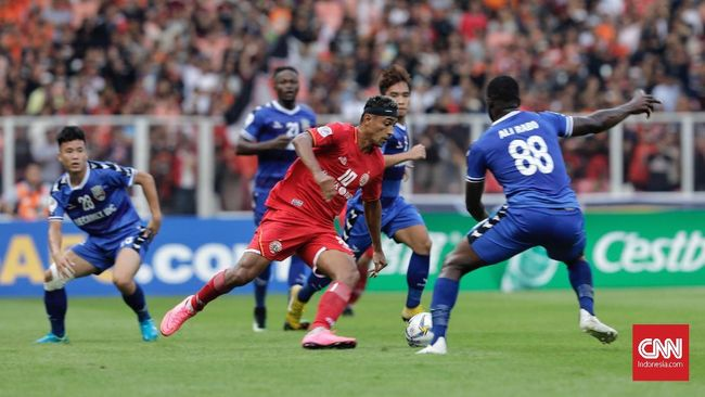 Persija Jakarta berhasil mengalahkan Shan United 3-1 yang diwarnai dengan dua gol dari Bruno Matos di Stadion Thuwunna, Yangon, Selasa (12/3).