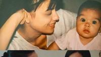 <p>Beberapa saat lalu ramai tantangan mengunggah foto lawas. Enggak ketinggalan Sophia menampilkan foto di tahun 1992. Sophia memajang foto kolase bersama putrinya, Eva Celia, saat masih bayi disandingkan dengan foto baru. (Foto: Instagram @sophia_latjuba88)</p>