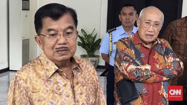 Wakil Presiden Jusuf Kalla bertolak ke Beijing, China untuk menghadiri Konferensi Tingkat Tinggi One Belt One Road (KTT OBOR), pada Rabu (24/4).