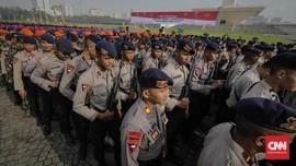 TNI-Polri Gelar Apel Persiapan Patroli Prokes di Jakarta