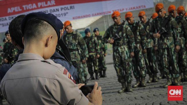 TNI menyatakan pendampingan mahasiswa dalam berdemonstrasi dilakukan di level Kotama kebawah, dan hanya jika ada permintaan dari Polri.