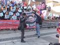 VIDEO: Warga Korsel Protes Pertemuan Trump dengan Kim Jong-un