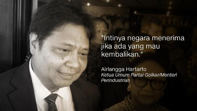 Dalam pidato kebangsaannya, capres nomor urut 01 Joko Widodo menyebut dirinya menunggu jika ada pemilik lahan yang ingin mengembalikannya ke negara.