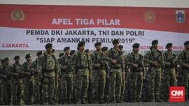 FOTO: Apel Tiga Pilar untuk Amankan Jakarta Saat Pemilu 2019