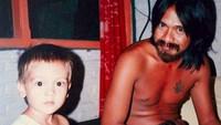 <p>Bersama mendiang ayah, Uut Bambang Sugeng. Luna kecil sepertinya senang berambut pendek. Mukanya memang dari kecil lebih condong mirip sang mama, yang merupakan berdarah Asutria, Bun.(Foto: Instagram @lunamaya)</p>