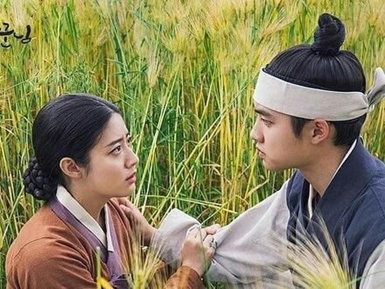 Salah satu adegan yang cukup serius memperlihatkan D.O EXO dan Nam Ji-hyun saling bertatapan mata.