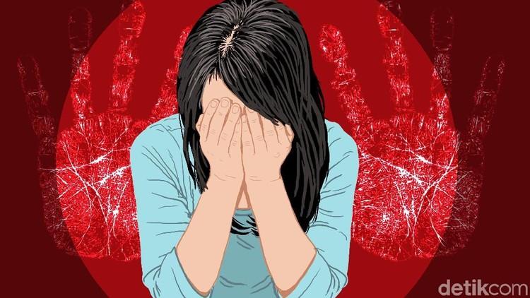 Bunda muda berinisial A diperkosa mantan pacar yang menaburi obat tidur di makanannya.