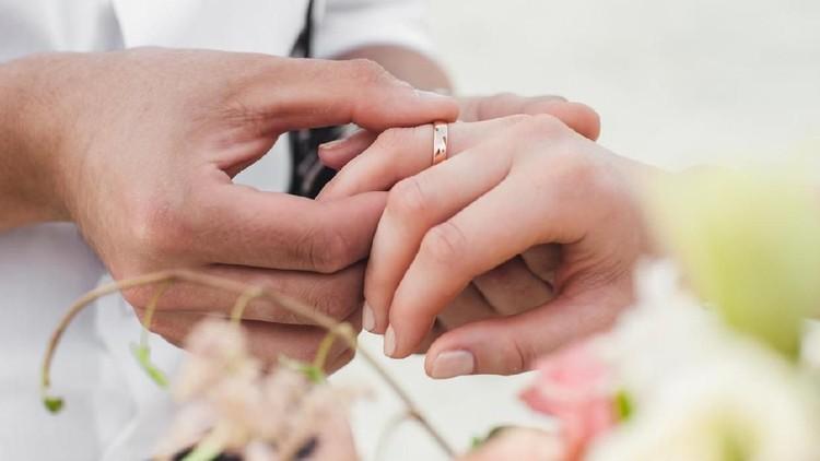 ilustrasi pengantin baru