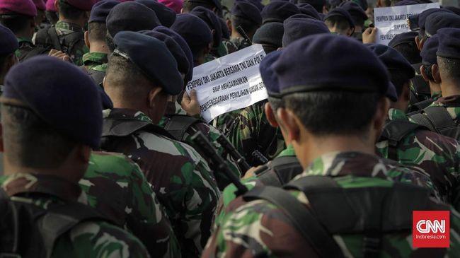 Kodam Jaya menyatakan telah mengantisipasi eksalasi massa dalam demo mahasiswa dan buruh di sekitar Istana Merdeka pada 28 Oktober dan 2 November 2020.