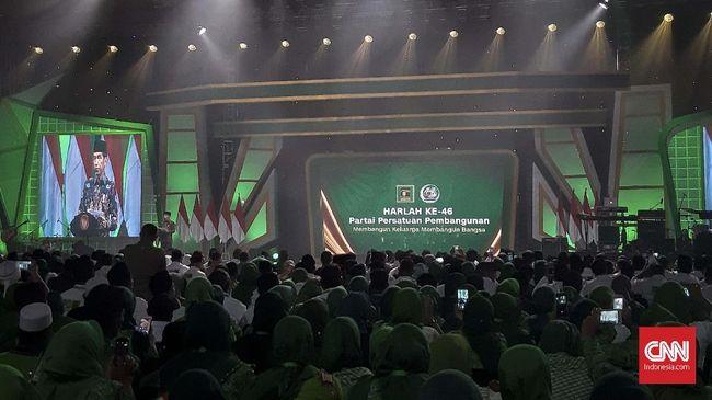 Presiden Jokowi meminta PPP untuk memperjuangkan kemaslahatan umat di usianya yang ke-46, meski usia partai terus bertambah dan para kader silih berganti.