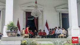 Jumpa Jokowi, Timnas U-22 Minta Rekomendasi Naik Pangkat