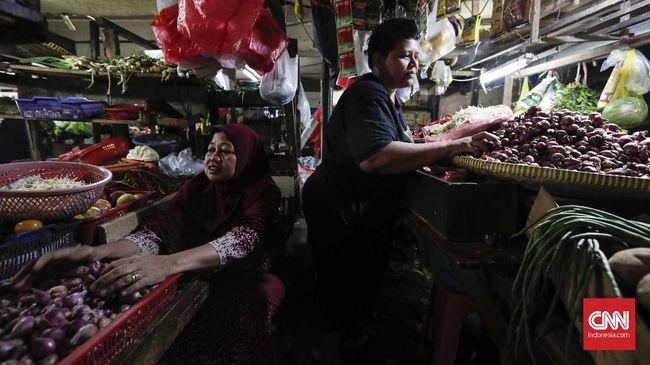 Survei Bank Indonesia memperkirakan inflasi Januari sebesar 0,42 persen.