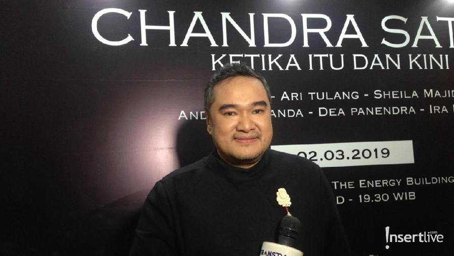 Chandra Satria Sukses Gelar Konser 'Ketika Itu Dan Kini'