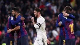 FOTO: Barcelona Kembali Permalukan Real Madrid di El Clasico