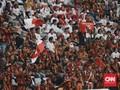 Pakai Loreng Oranye, Jokowi Hadir di Acara Pemuda Pancasila