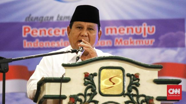 Prabowo Subianto menyebut elite di Jakarta hatinya beku dan menginginkan rakyat patuh macam kerbau dicucuk hidungnya.