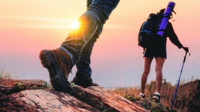 Saat tersesat di alam liar, jangan memaksa berjalan tak tentu arah.