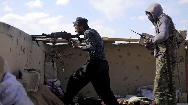 Baku tembak antara aparat kepolisian Sri Lanka dan kelompok yang diduga terafiliasi ISIS. Beberapa di antaranya tewas.