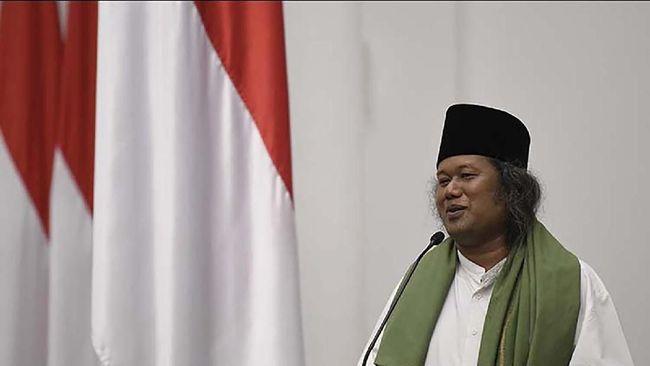 Pengurus DPP FPI mendatangi Bareskrim Polri untuk melaporkan penceramah Ahmad Muwafiq terkait dugaan penistaan agama.