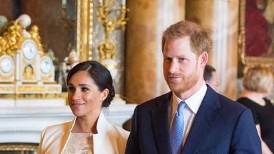 Pangeran Harry dan Meghan Markle Dikaruniai Anak Laki-laki