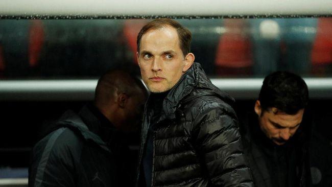Pelatih PSG Thomas Tuchel membela kemarahan Neymar setelah Les Parisiens disingkirkan Manchester United dari Liga Champions.