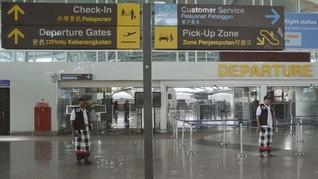 Penumpang di Bandara Ngurah Rai Bali Merosot 67 Persen