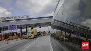 Arus Balik, Volume Kendaraan di Tol Medan Diprediksi Naik