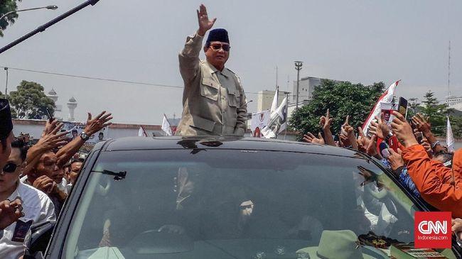 Capres nomor urut 02 Prabowo Subianto mengapresiasi KPU dan Bawaslu yang dinilai telah kooperatif mengawal Pemilu 2019.