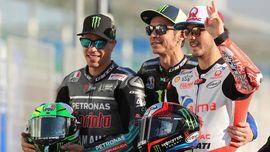 Rossi Terhibur Lihat Jebolan VR46 Naik Podium MotoGP Spanyol