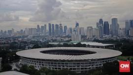 Timnas Vanuatu Terkesima Luasnya Stadion Utama GBK