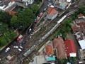 Alat Berat Tiba, Evakuasi KRL Anjlok Diperkirakan 6 Jam