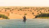 <p>Anisha memiliki hobi traveling, Bun. Ia kerap posting foto liburan keliling dunia di Instagram pribadinya. (Foto: Istimewa)</p>