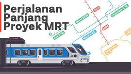 INFOGRAFIS: Perjalanan Panjang Proyek MRT