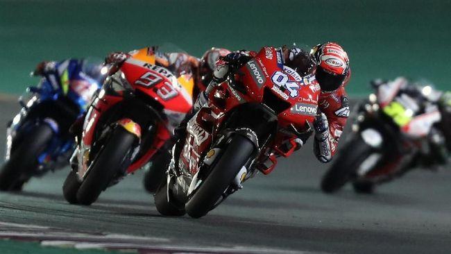 Pebalap Ducati Andrea Dovizioso dipastikan menjadi juara MotoGP Qatar 2019 setelah protes empat tim pabrikan soal winglet belakang ditolak oleh steward MotoGP..