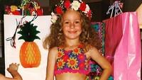<p><em>Hawaiian Birthday Party</em>! Ini waktu Brie merayakan ulang tahun ke-6, Bun. Lucu banget ya? (Foto: Instagram @brielarson)</p>