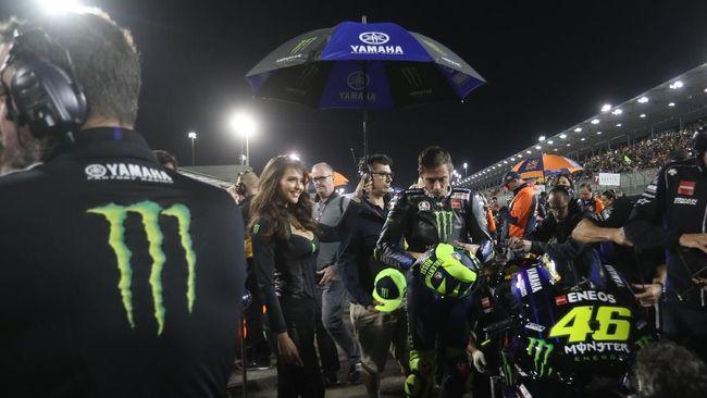 Pebalap Monster Energy Yamaha Valentino Rossi merasa tidak cukup kuat bersaing masuk dalam podium MotoGP Qatar 2019 dan finis di peringkat kelima.