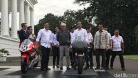 Permalink to Presiden Jokowi Temui Petinggi Dorna di Istana, MotoGP 2021 Kian Konkret