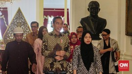Jokowi ke Siti Aisyah: Selamat Berkumpul Bersama Keluarga