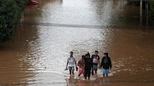 Banjir di Brasil Tewaskan 12 Orang