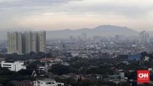 Dentuman di Jakarta Berbarengan Petir di Gunung Salak Bogor