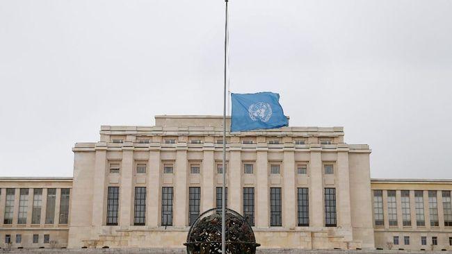Bendera Setengah Tiang PBB untuk Korban Ethiopian Airlines