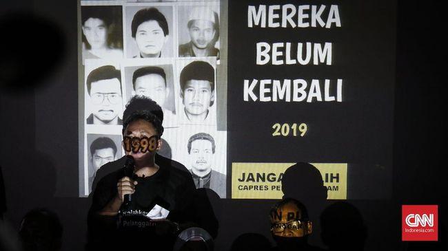 Keluarga Korban 1998 Pesimistis pada Jokowi, Tolak Prabowo