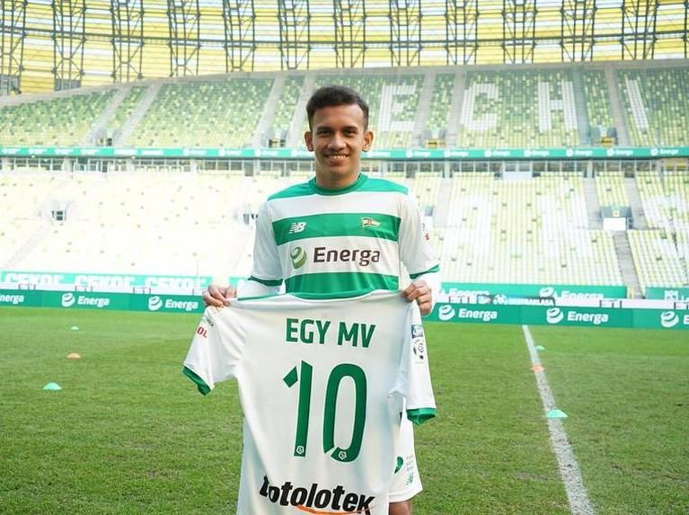 Pemain timnas berusia 18 tahun, Egy Maulana Vikri, saat ini sedang memperkuat Lechia Gdanks, klub asal Polandia.