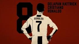 INFOGRAFIS: 8 Hattrick Cristiano Ronaldo di Liga Champions