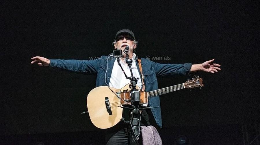 Jelang Pemilu, Iwan Fals Gelar Konser 'Aku Cinta'