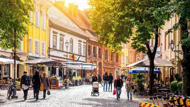 Vilnius, Kota Tua yang Sarat Peradaban