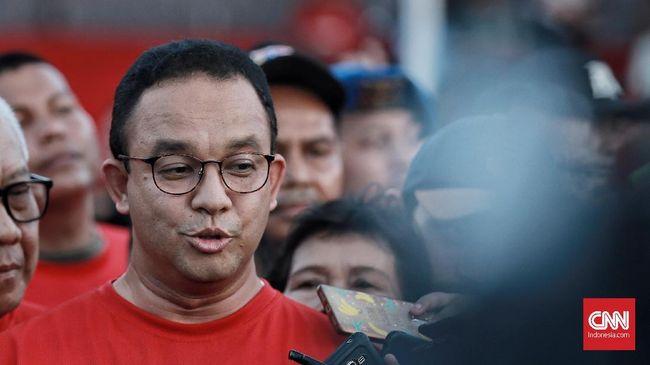 Saat ditanya soal kicauan lamanya tentang penerimaan atas kekalahan, Gubernur DKI Anies Baswedan menyebut itu adalah rumus dalam demokrasi.