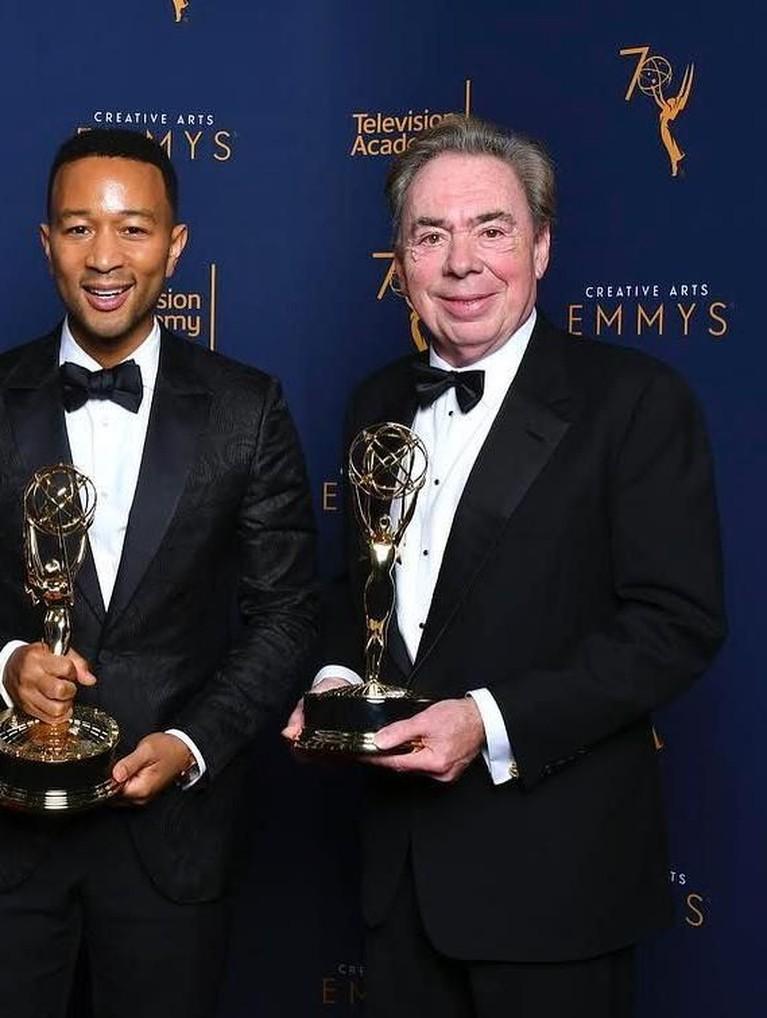 Sama dengan Andrew, Tim Rice juga berhasi mengoleksi keempat penghargaan tersebut di tahun 2018.